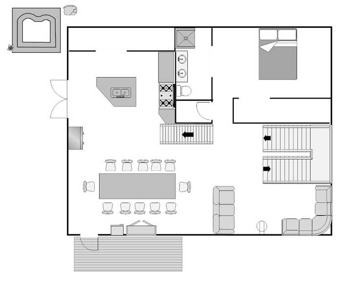 Le Prele first floor
