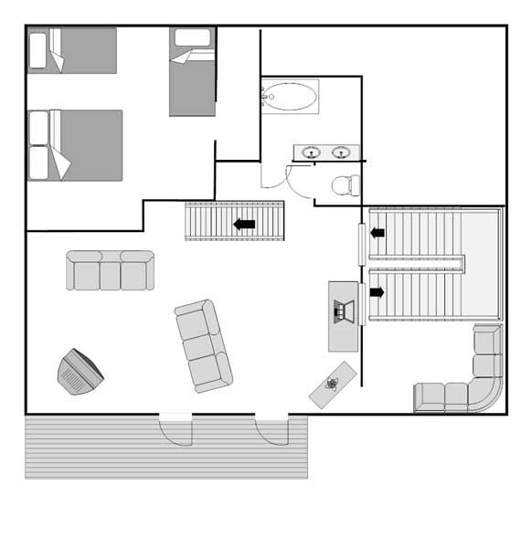 Le Prele second floor