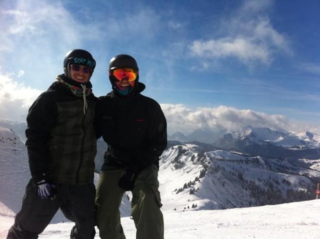 Morzine powder snowboarding mountain mavericks