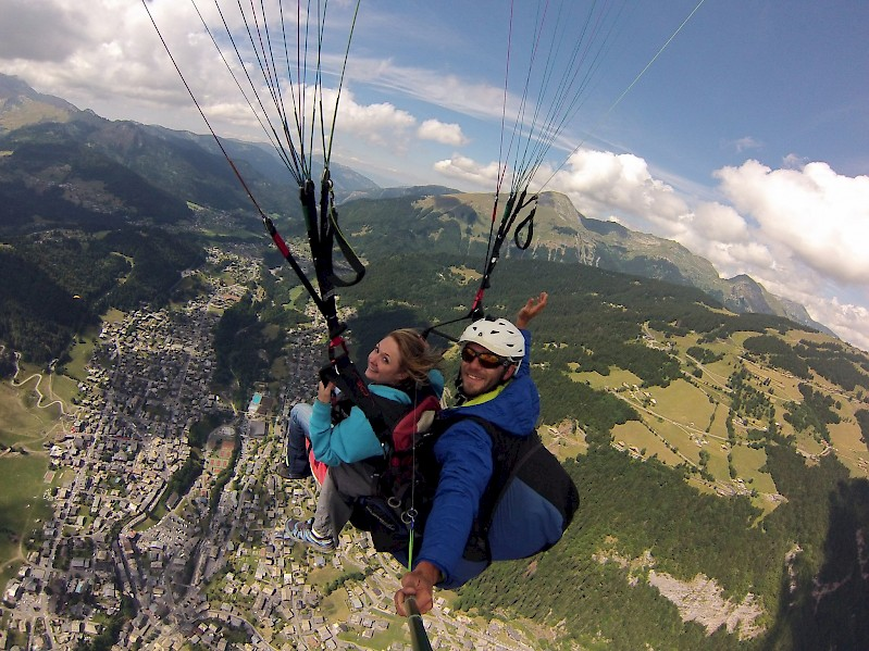 Parapente Morzine - Mountain Mavericks - Summer Activity Weeks