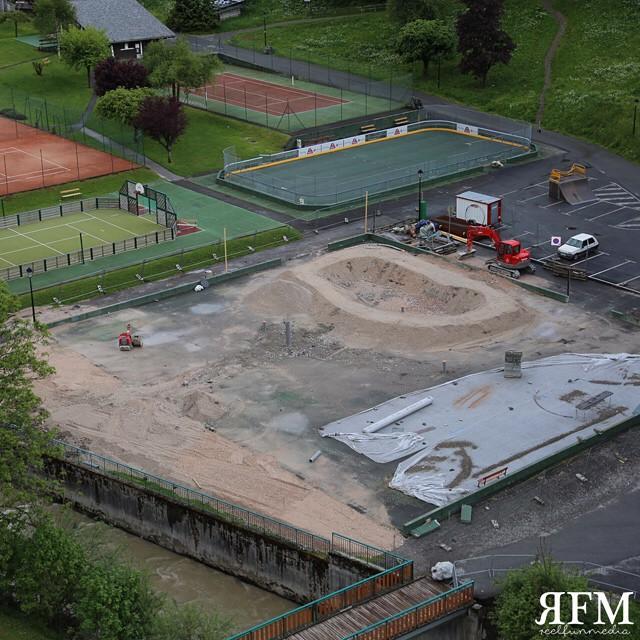 Concrete Bowl Skatepark Morzine France | Mountain Mavericks