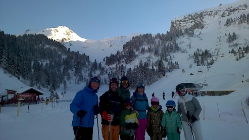 Morzine ski chalet. Family Holiday