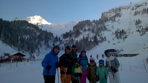 Morzine ski chalet. Family Holiday