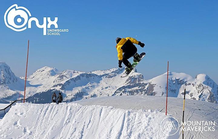 Snowboard Airbag Photo Morzine