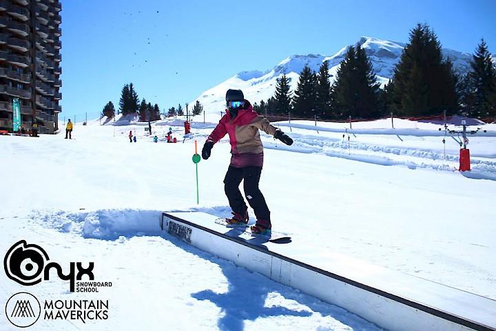 Snowpark in Avoriaz