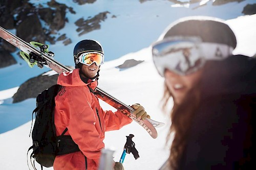 skiing in morzine