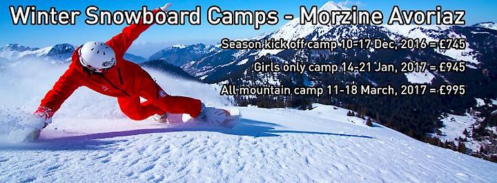 Onyx Snowboard Camp - Morzine
