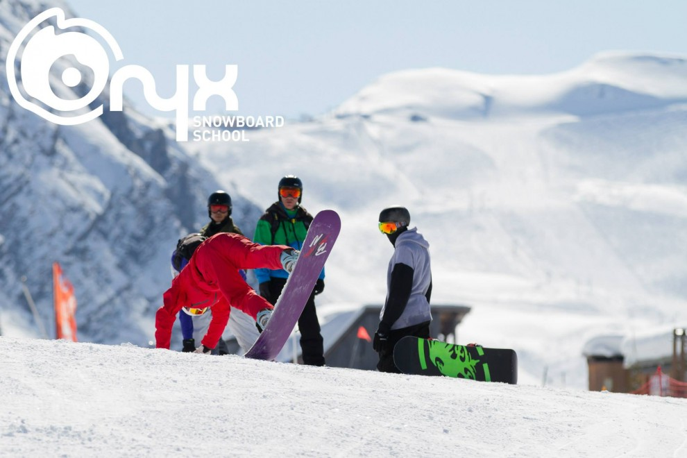 Fun time on the Onyx and Mountain Mavericks Snowboard Camps, Morzine, Avoriaz
