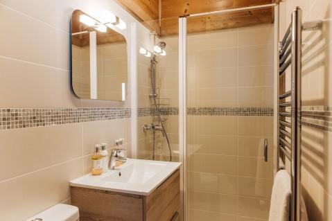 Luxury Morzine bathroom   REN Skincare