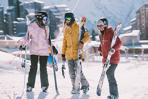 ski equipment morzine