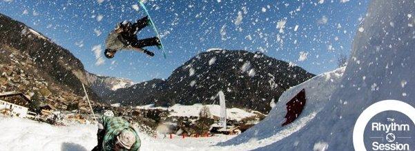 Snowboard competition Morzine, L'Aubergade Hotel