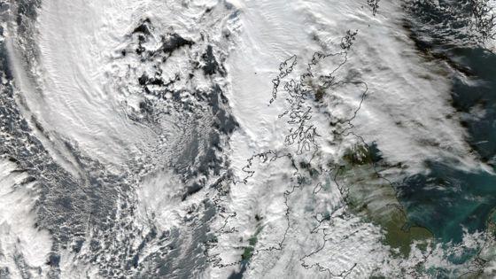 Storm Abigail Effects Alpine Weather