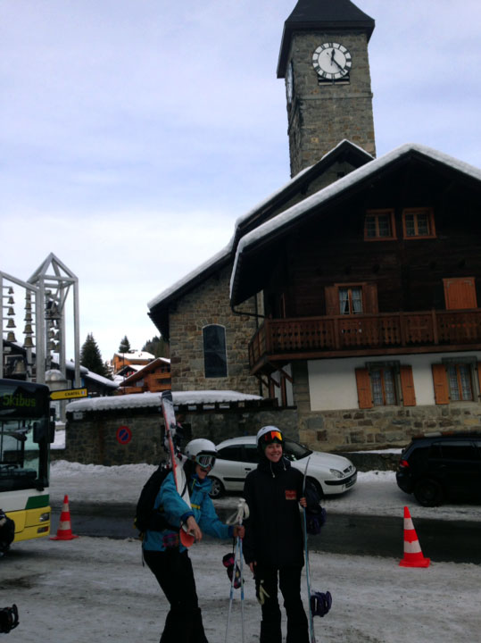 the crossing of Chatel