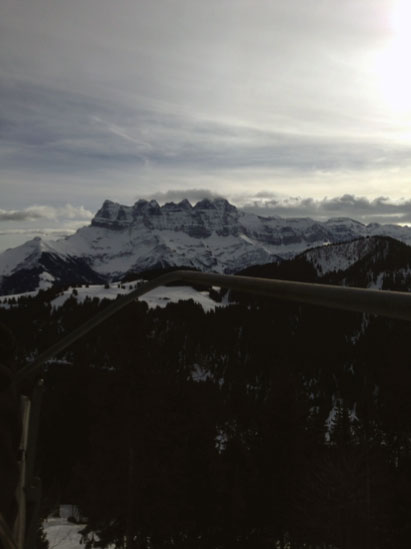 Doesn't everything look small from up here. Dents de Midi