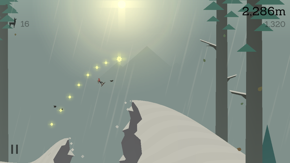 Altos adventure screen shot chasm jump