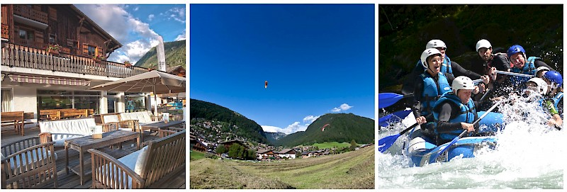 Morzine activity holiday summer