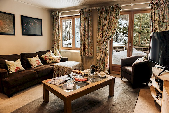 Chalet Chambertin living room