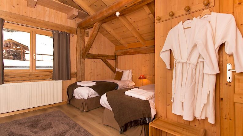 Bedroom in Ski Chalet, Morzine