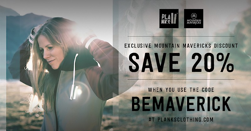 Planks Clothing Discount Code 20% - Mountain Mavericks