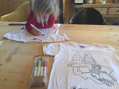 Draw your own tshirts with Mountain Mavericks