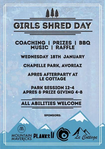 girls shred