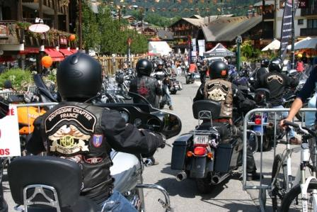 Harley days morzine