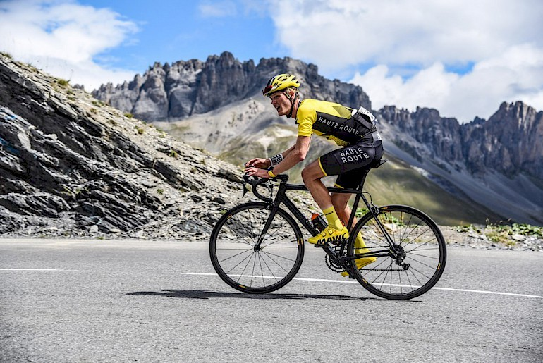 Haute Route road cycling in Morzine