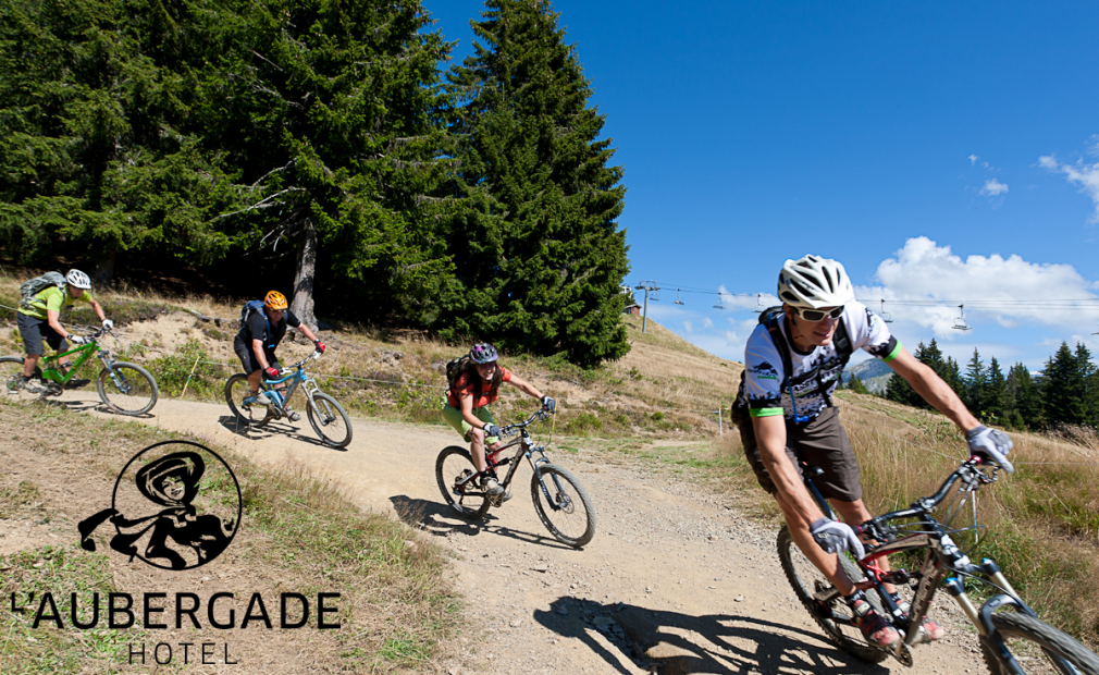 Mountain Biking Morzine | Summer Holiday | L'Aubergade Hotel