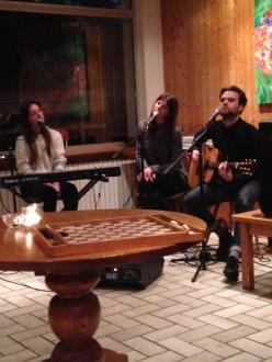 Music at L'Aubergade Hotel