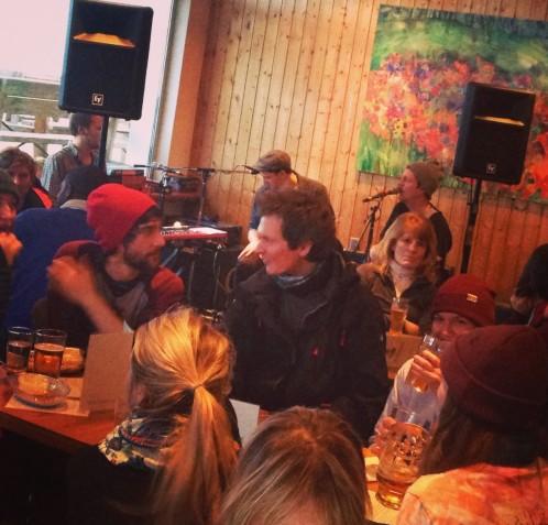 Music in L'Aubergade Hotel Bar Morzine