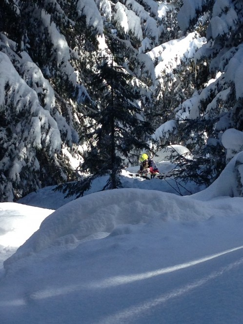 Powder skiing with Mountain Mavericks Team in Morzine
