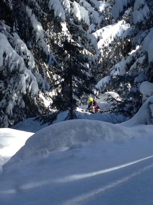 Powder skiing with Mountain Mavericks Team in Morzine