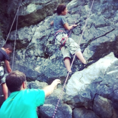 Climbing The Elephant Rock in St Jean d'Aulps - Mountain Mavericks