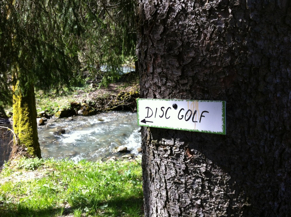 Frisbee Golf Fun in Morzine!