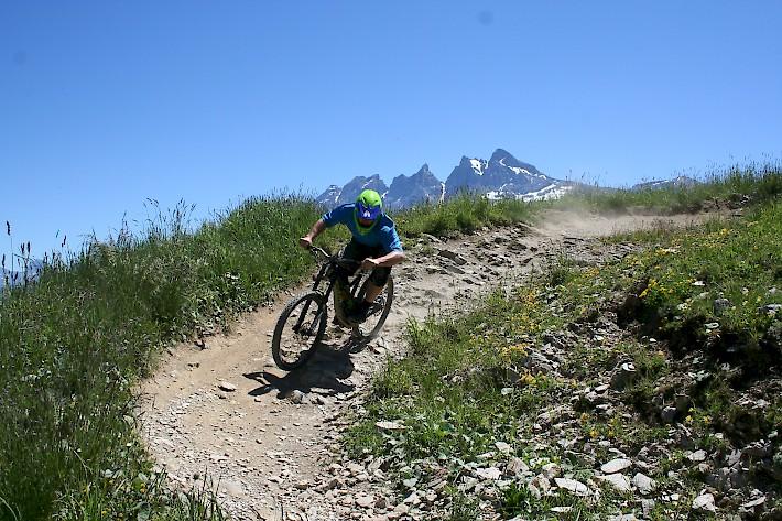 Downhill Mountain Biking in Morzine | L'Aubergade Hotel