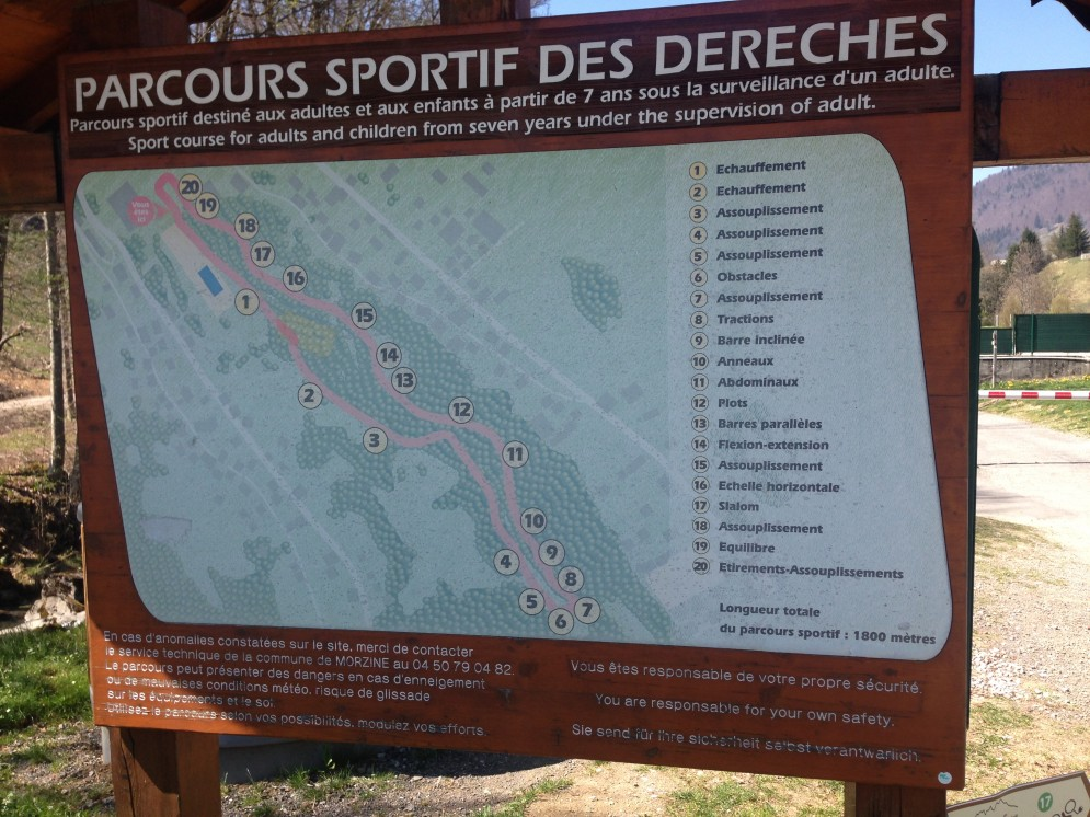 Sportif Morzine - Map