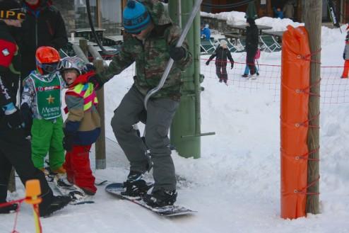 Mountain Mavericks Kids Ski Chalet
