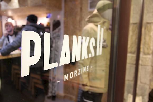 planks morzine