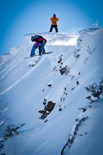 olly rome snowboards morzine