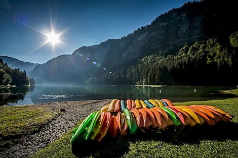 Lac de Montriond, Morzine