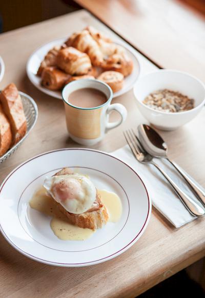 Breakfast in Morzine