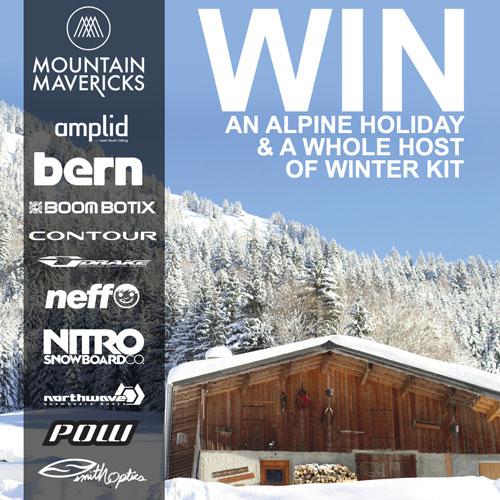 Win with Mountain Mavericks and Ultrasport!