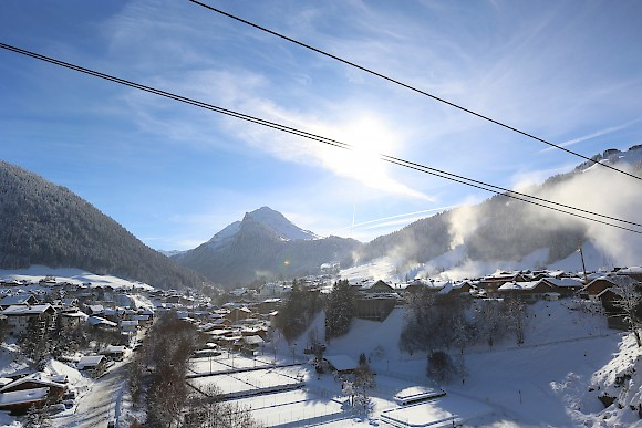 Morzine is at the heart of the Portes du Soleil