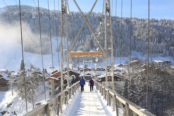 La Passerelle - Morzine's suspension bridge