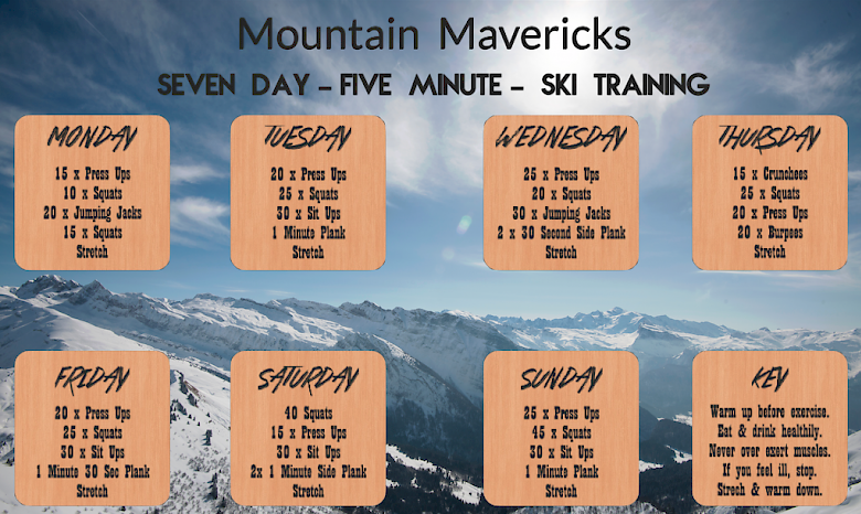 Mountain Mavericks 5 Minute Ski Training Morzine
