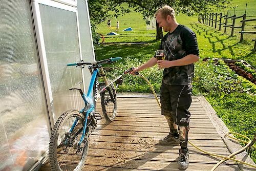 mountain biking morzine summer