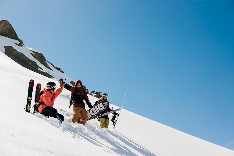 Mountain Mavericks Ski Photo