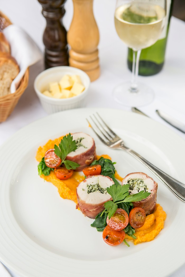 Gourmet Food at Chalet Chambertin