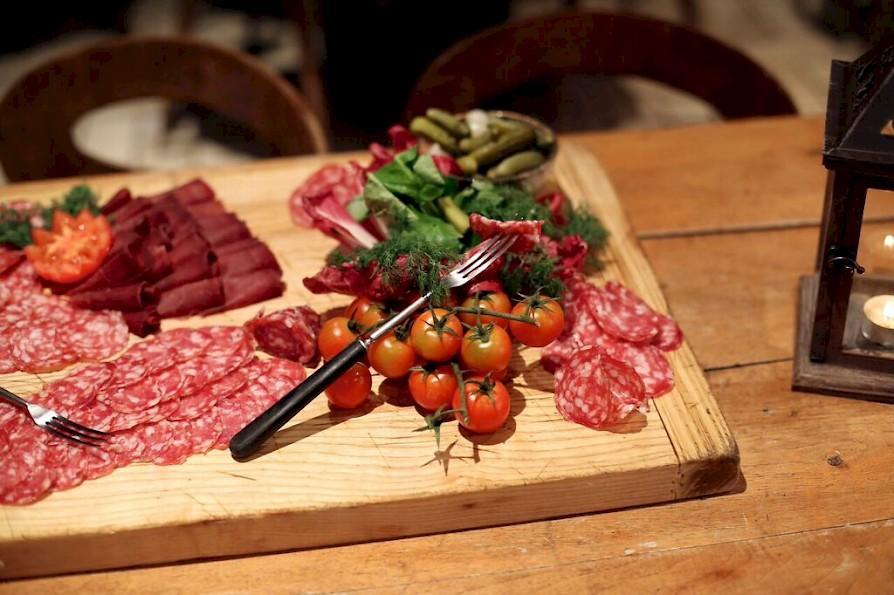 Food, Morzine L'Aubergade Hotel France. Job Vacancy Chef Alps