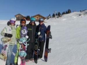 Woman snowboarding Morzine | Mint Snowboarding | Mountain Mavericks